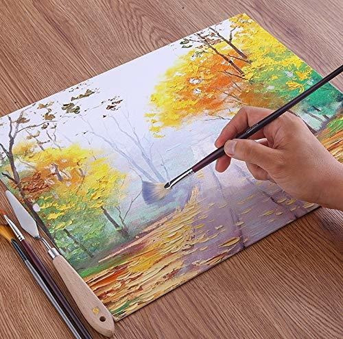lienzo artistico natural para pintar paneles de lienzo