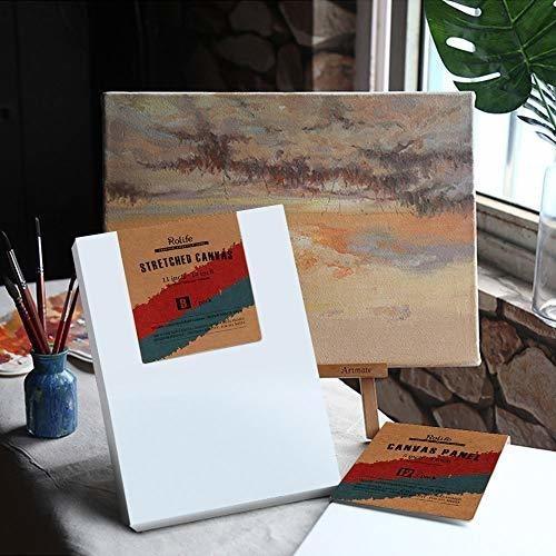 lienzo en blanco estirado para pintar de robothime 79 x 98 e