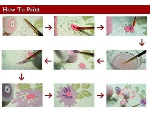 lienzo para pintar por números mona lisa envío gratis