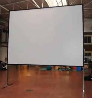 lienzo para videoproyeccion dual mod tl 200 de 4 x 3 metros