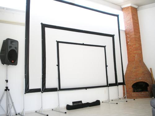 lienzo para videoproyeccion mod tl 140 de 300 x 200cm oferta