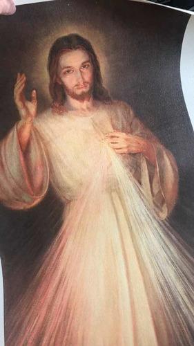 lienzo señor de la divina misericordia krakow (100x42,5) cms