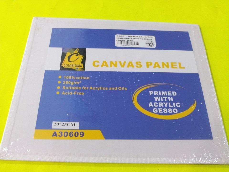 Lienzo Sobre Carton Canvas 20x25 Cm - Bs. 4.200.000,00 en Mercado Libre