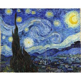 Lienzo Tela Canvas La Noche Estrellada Vincent Van Gogh 1889