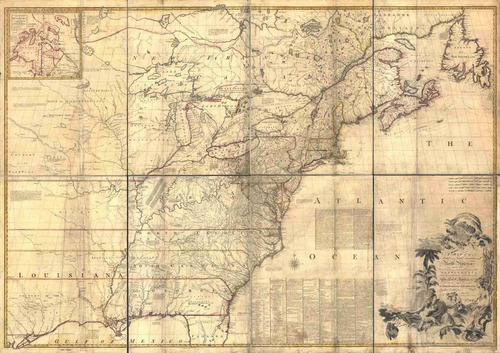 lienzo tela canvas plano mapa mitchell estados unidos 50x71