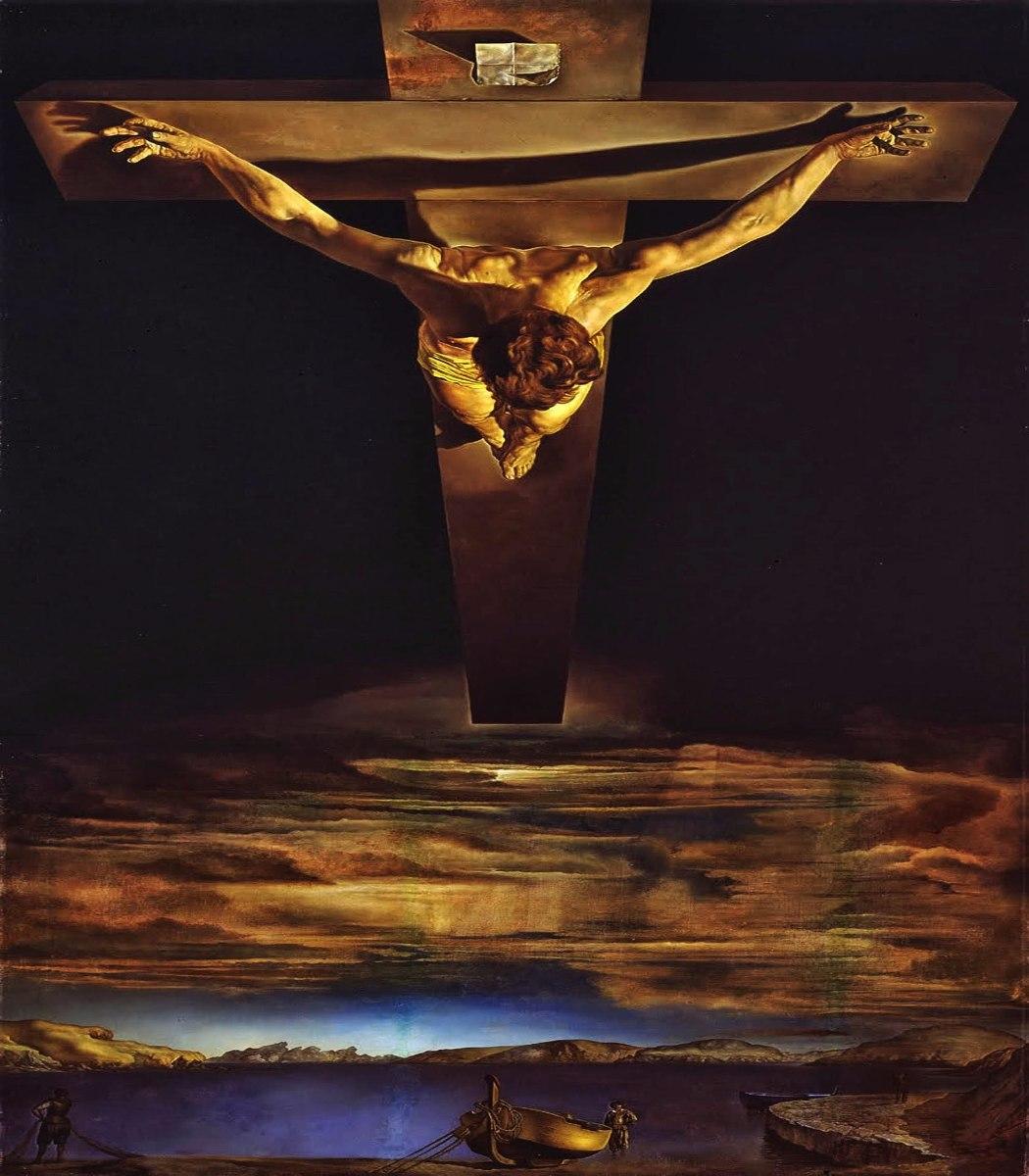 Resultado de imagen para el cristo de san juan de la cruz dali