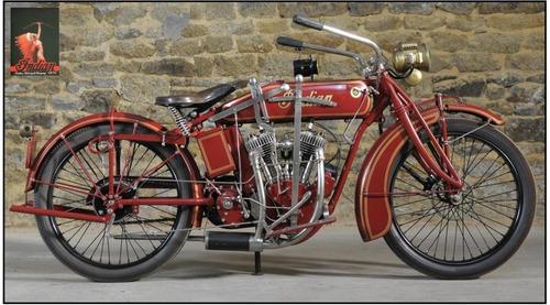 lienzo tela fotografía motocicleta indian 50 x 90 cm