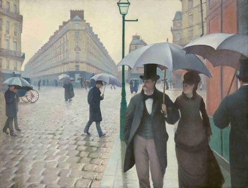lienzo tela gustave caillebotte 1877 impresionismo 50 x 67