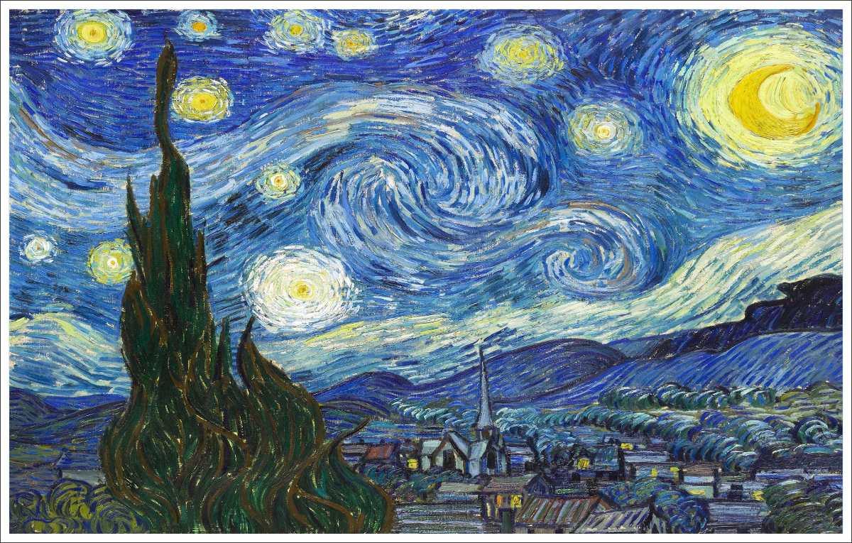 Resultado de imagen de van gogh noche estrellada