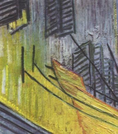 Lienzo Tela Oleo Van Gogh Terraza De Cafe Por La Noche 1888