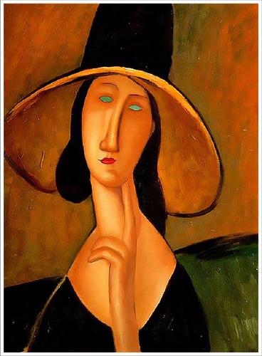 lienzo, tela, picasso, mujer en sillon rojo, 70x94cm