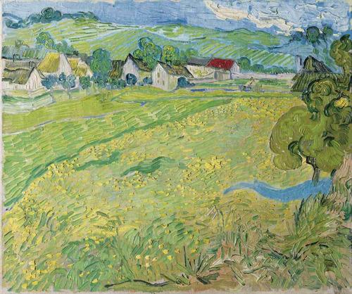 lienzo tela vincent van gogh les vessenots 1889 50 x 59 cm