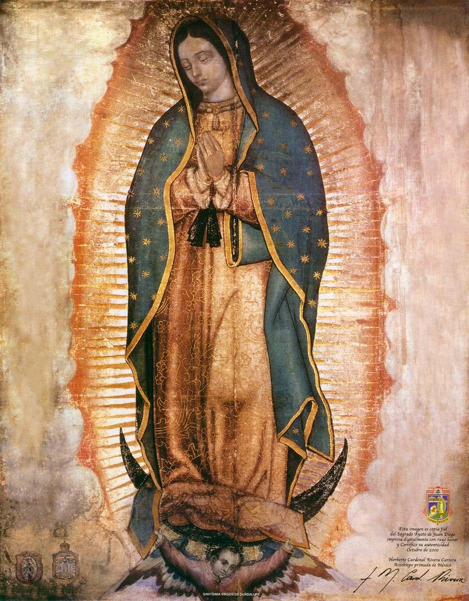 Virgen guadalupe fotos de de la
