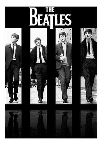 lienzografía lienzo the beatles  impresión  60x90  poster