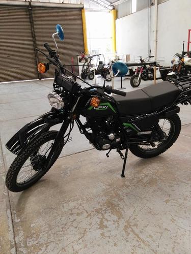 lifan motocicleta doble proposito de trabajo y diversion