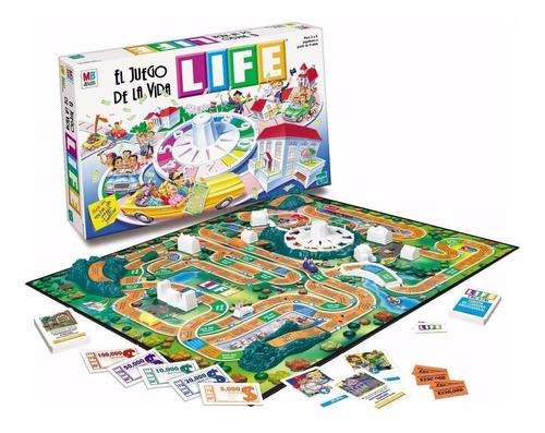 life el juego de la vida hasbro original mundo manias