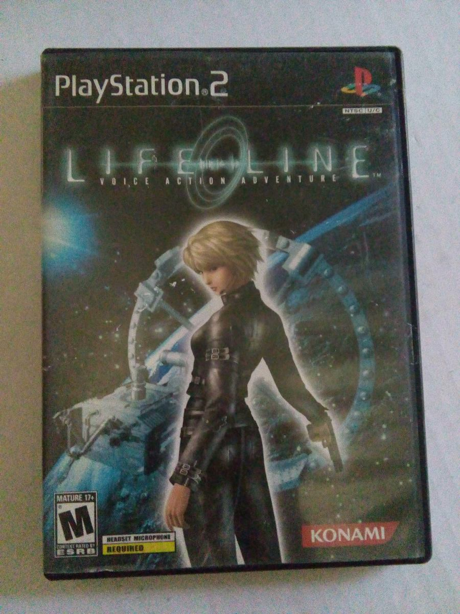 Life Line Ps2 Voice Action Adventure Playstation 2 Lifeline