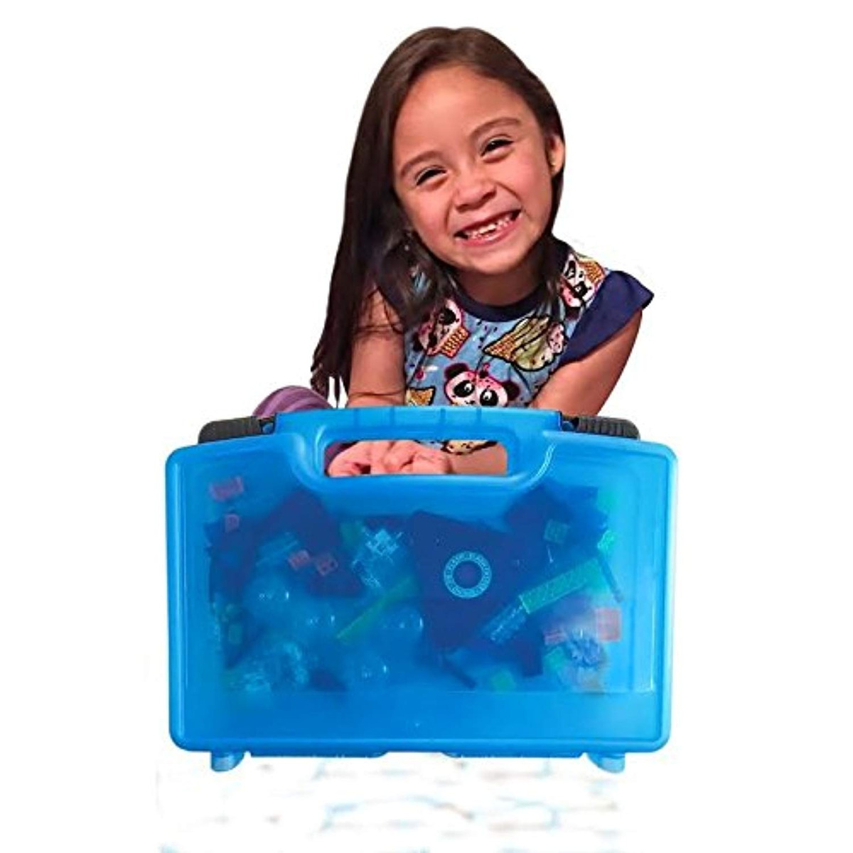 Toy Storage Carrying Box Figures Playset Organizer Accessories Kids LMB LMB1963 Life Made Better Laser Pegs Case