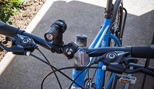 life mounts luz led de bicicleta con soporte universal pate