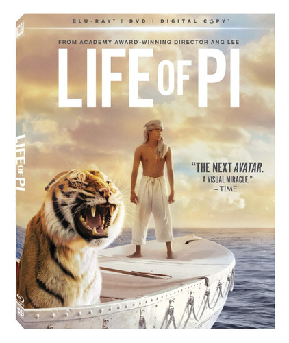 life of pi - combo blu-ray + dvd! - original oferta