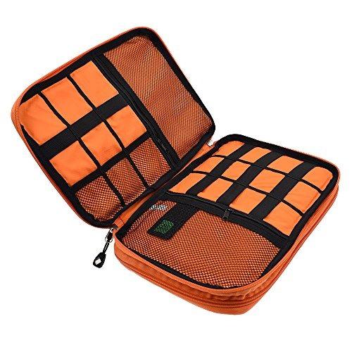lifemate accesorios de viaje organizador de electrónica univ