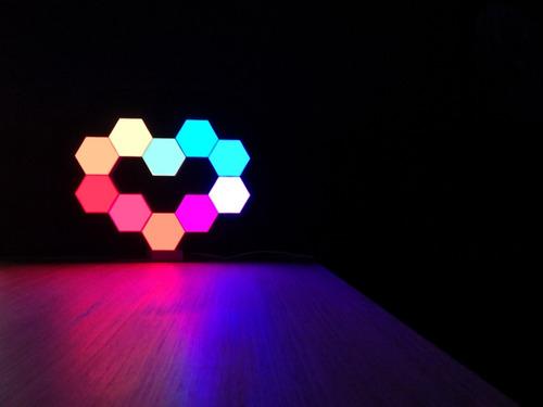 lifesmart luz led modular x 1 domotica app alexa google siri