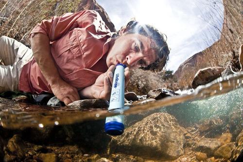 lifestraw filtro personal de agua camping excursion