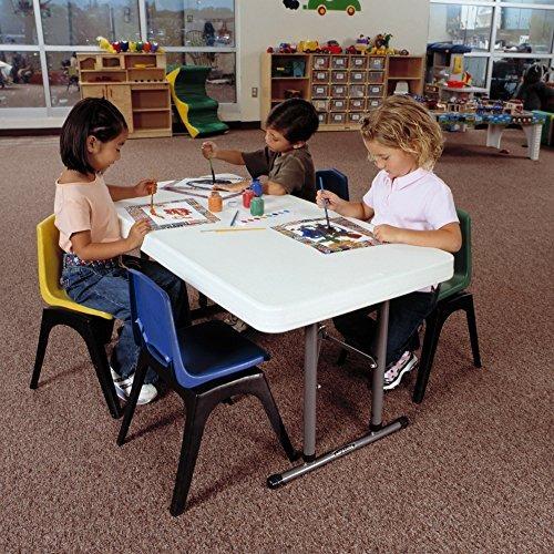 lifetime 80160 commercial altura ajustable plegable mesa de