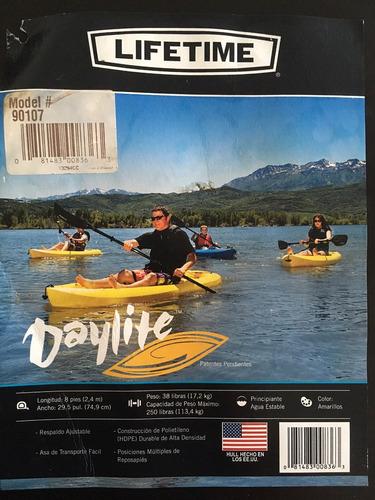 lifetime daylite kayak - bote