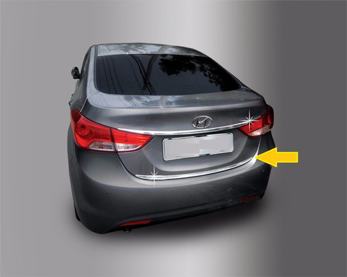 lift cromado portalon new elantra 2011