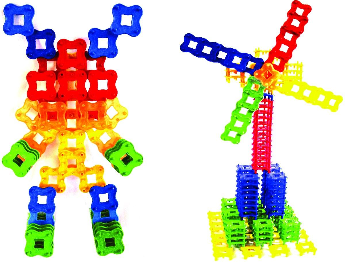 Lig Criativo Blocos De Montar 1000 Peças Brinquedo Educativo R