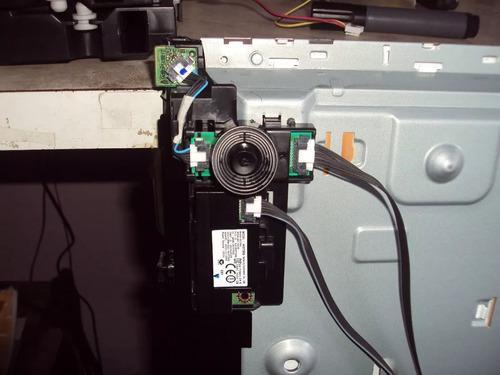 lig e desl joystick tv samsung 48h5550 completo usado    usa