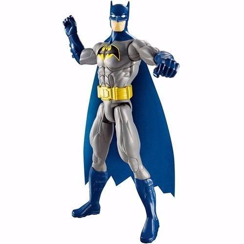 liga da justiça boneco batman mattel cdm61