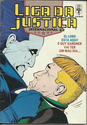 liga da justiça nº 19 formatinho
