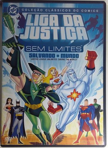 liga da justiça sem limites - salvando o mundo - original