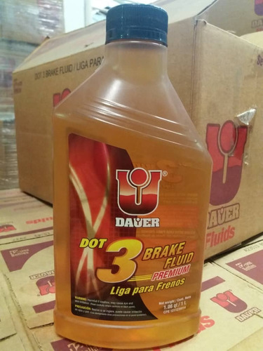 liga de feno dot 3 /   1 litro  dauer importada