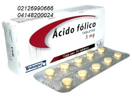 liga de freno acido folico