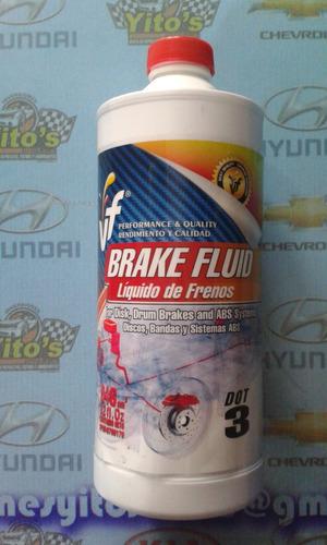 liga de freno brake fluid-dot 3-1 litro