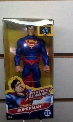 liga de la justicia 15 cm dc superman sobre ruedas juguetes