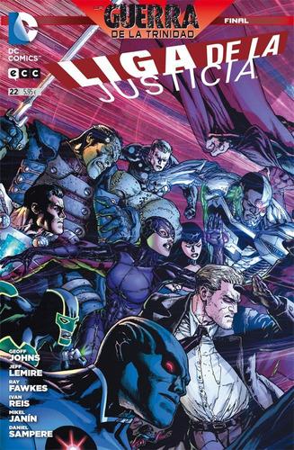 liga de la justicia 22 serie regular ecc españa
