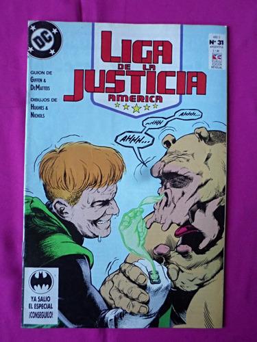 liga de la justicia america n° 31 ed. perfil año 1994