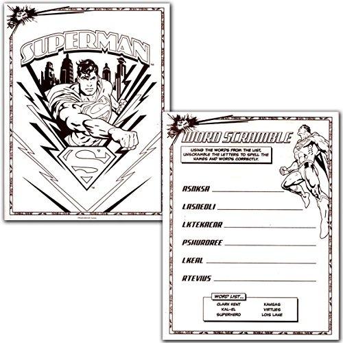 Liga De La Justicia Batman Y Superman Libro Para Colorear Su ...