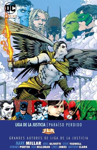 liga de la justicia paraíso perdido- dc ecc comics