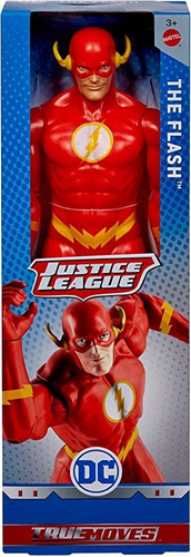 liga de la justicia true moves flash mattel gdt51 30cm