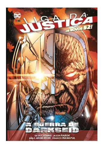 liga justiça: a guerra de darkseid - os novos 52! - capa dur