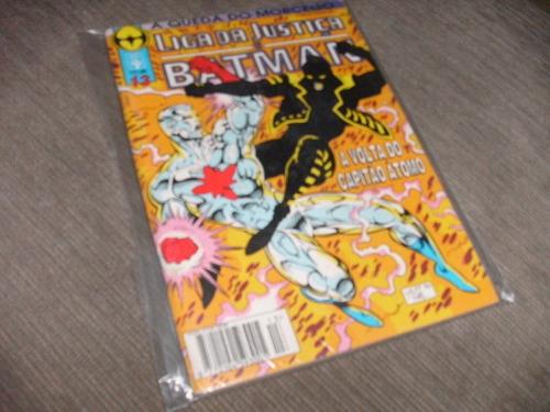 liga justiça e batman queda morcego nº13 revista edit abril!