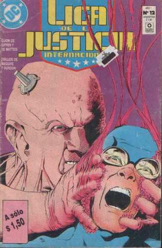 liga justicia comics