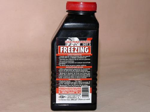 liga para frenos dot 3 290 freezing