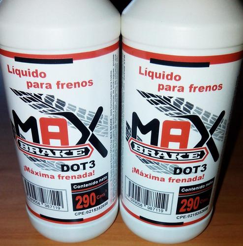liga para frenos max brake dot3 290 cmts3