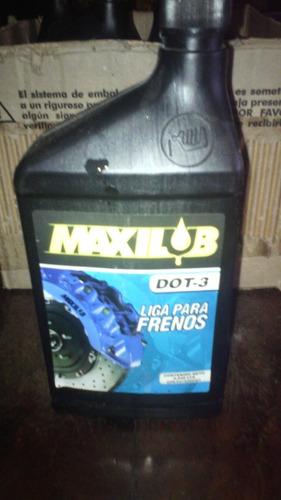 liga para frenos maxilub dot-3  0,946 lts